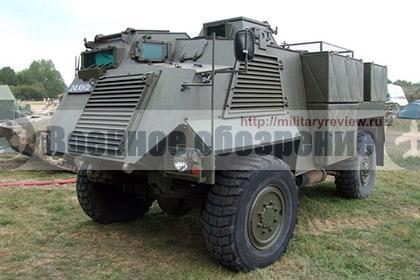 В Украину прибыла первая партия английских бронеавтомобилей «Саксон»