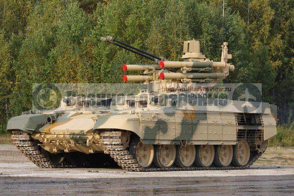Концепция построения боевой машины поддержки танков