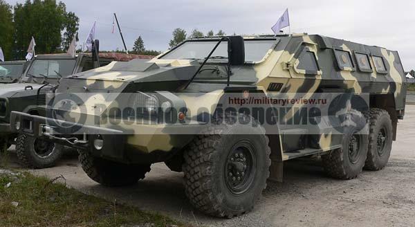 МВД России завершило испытания бронеавтомобиля «Булат»