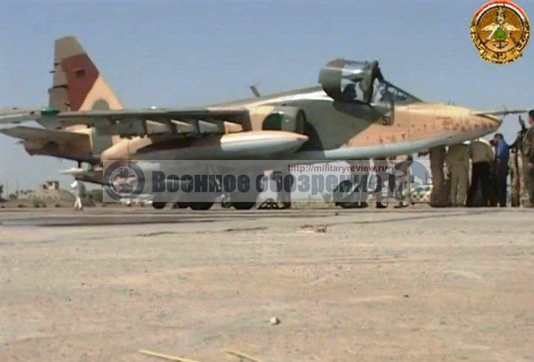 Поставка российских Су-25 переломила ситуацию на полях сражений с ИГ