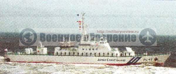 Увеличение бюджета береговой охраны Японии