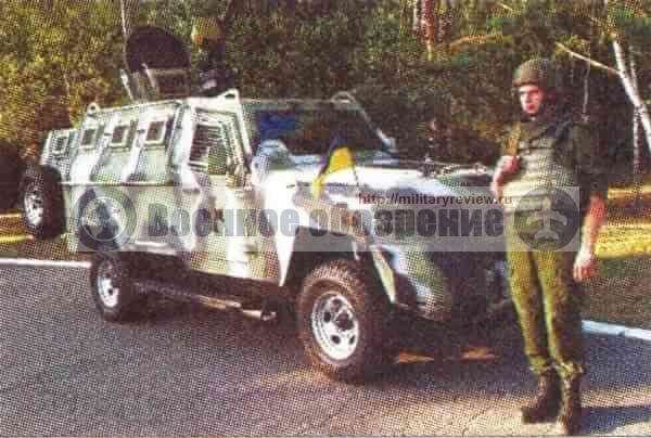 Пограничная служба Украины получит бронеавтомобили «Кугар-КрАЗ»