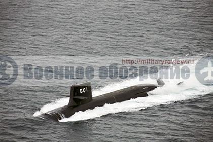 """Подводная лодка """"Сорю"""" ВМС Японии"""