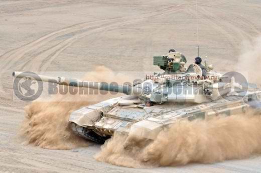 Т-90СМ с комплексом «Айнет»