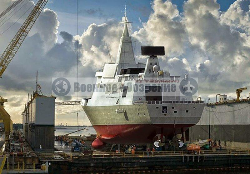 Китай строит второй по величине эсминец после «Замволта»