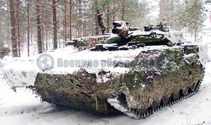 Финляндия начала модернизацию БМП-2