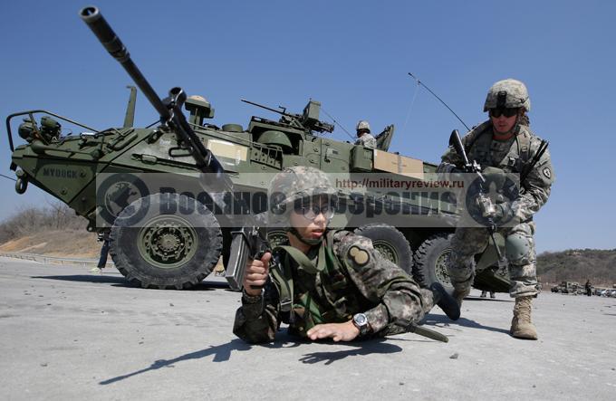США и Южная Корея начали крупные маневры