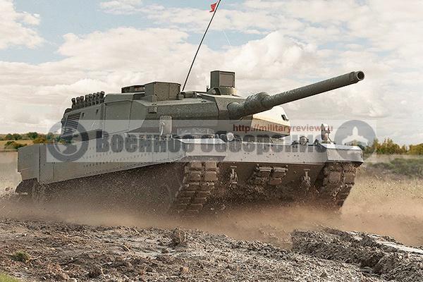 Турецкий танк Altay