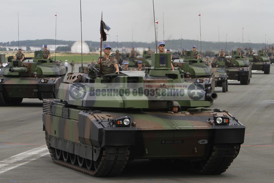 Модернизация танков Leclerc