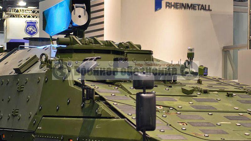 БТР Boxer компании Rheinmetall с высокомощным лазером