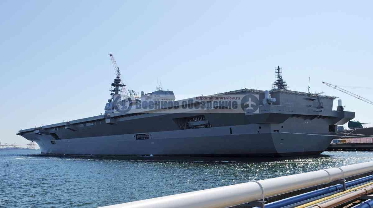 Японский флот получил вертолетоносец Izumo