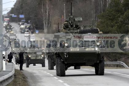 США начали военные учения вРумынии иБолгарии