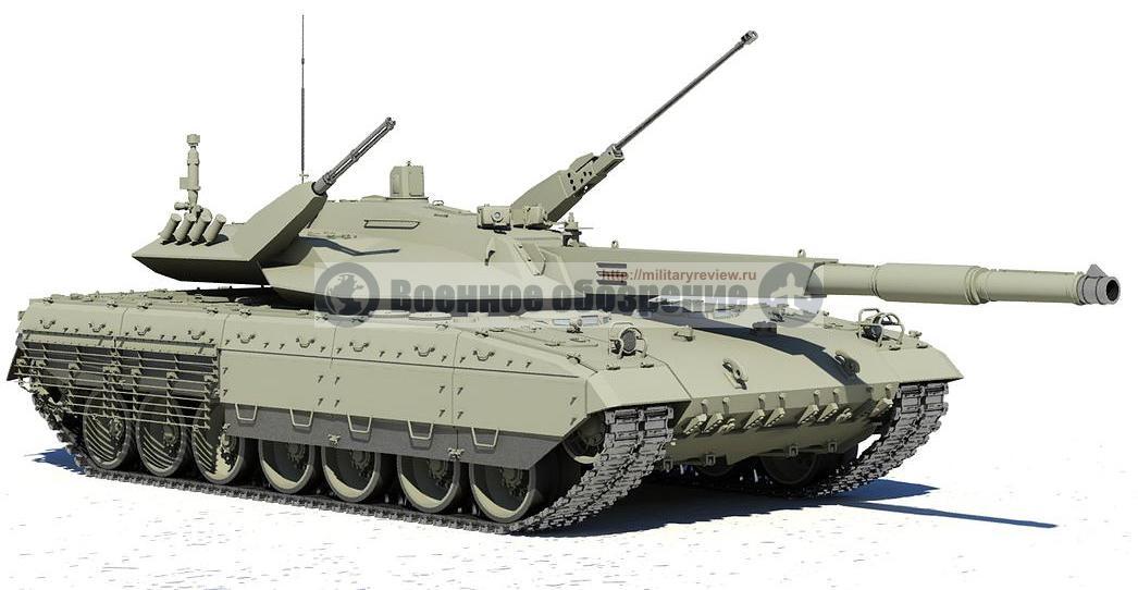 "Предполагаемый внешний вид танка Т-14 ""Армата"""