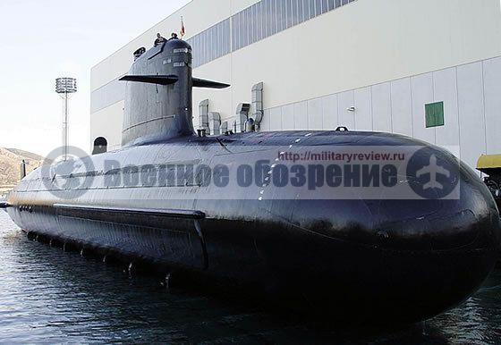 В Индии спущена на воду первая подводная лодка проекта «Скорпена»
