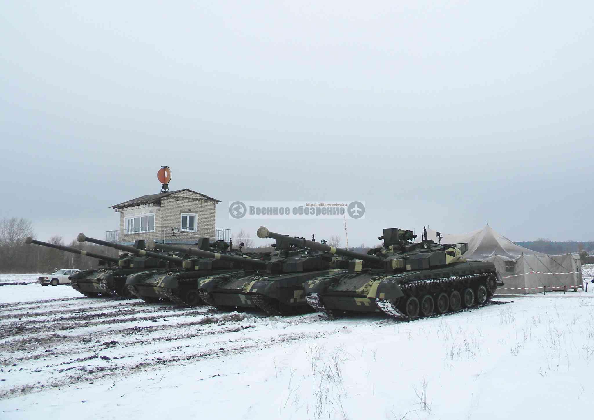 """Готовы еще пять танков """"Оплот-Т"""" для Таиланда"""