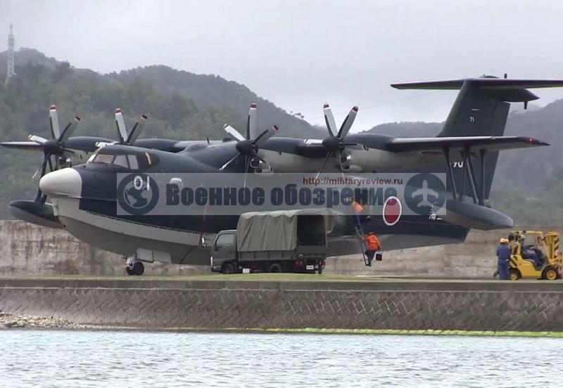 Индонезия может закупить японские гидросамолеты вместо российского Бе-200