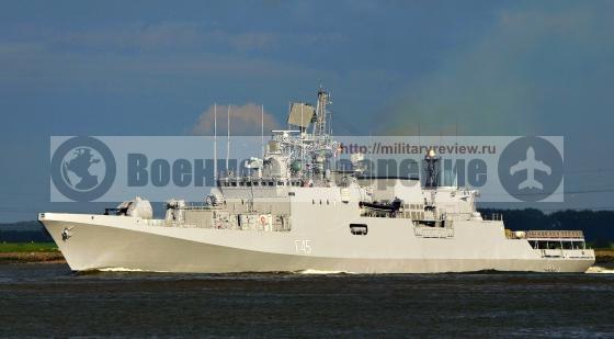 Рособоронэкспорт предложил перенести постройку фрегатов в Индию