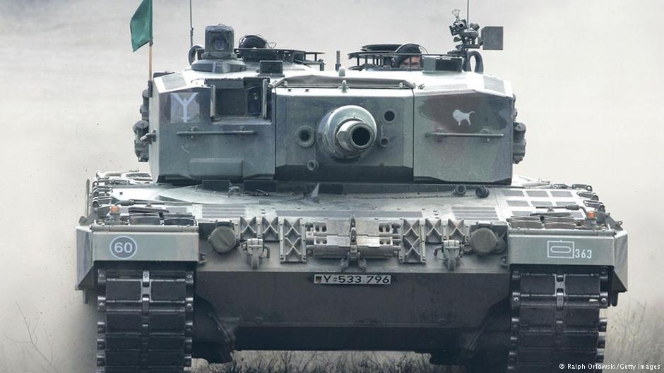 Основной танк бундесвера Leopard 2