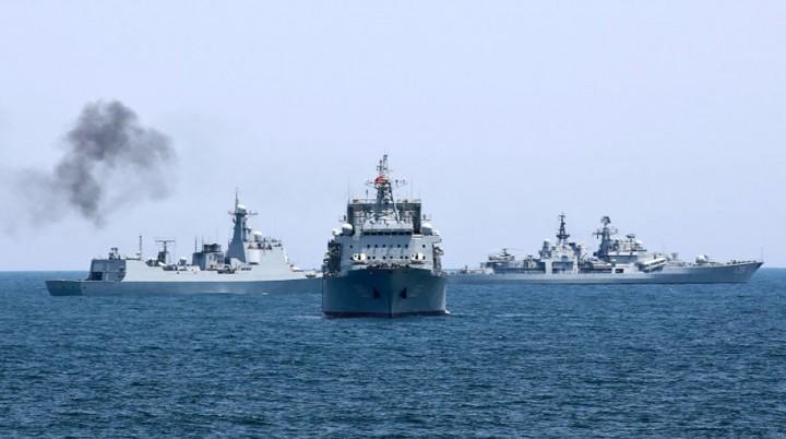 Первые российско-китайские учения в Средиземном море