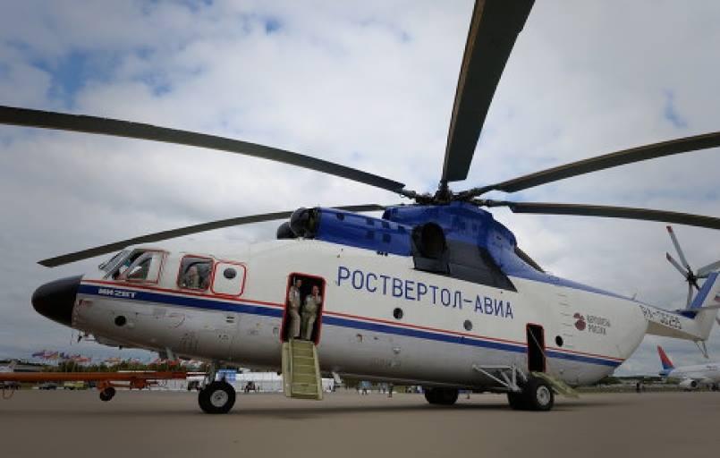 Россия и Китай намерены вместе развивать тяжелое вертолетостроение