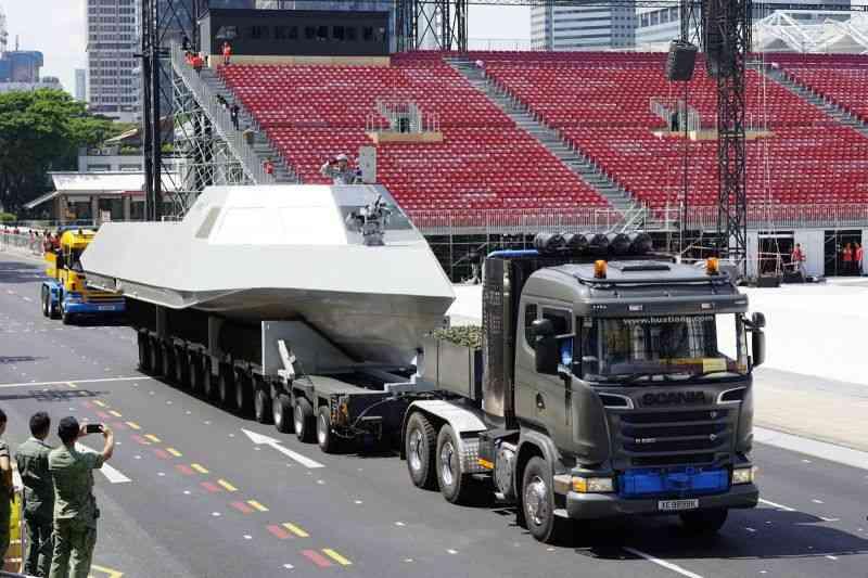 Сингапурский катер «Specialised Marine Craft» (SMC)