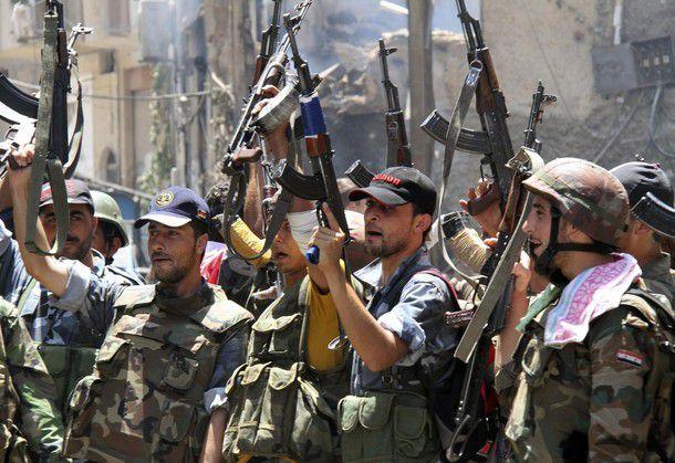 Сирийские военные отбили атаку боевиков на город Алеппо
