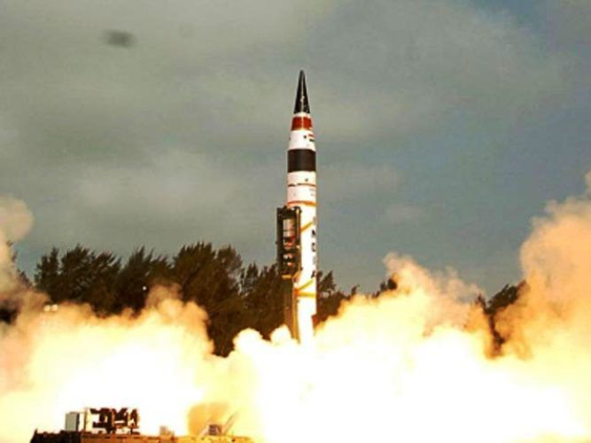В Индии разрабатывается проект новой баллистической ракеты