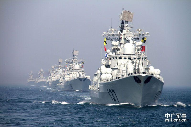 Китайские ВМС начали 10-дневные учения