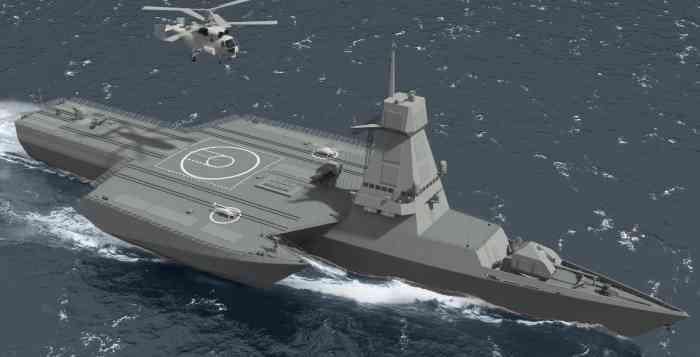 В России разработан уникальный боевой корабль прибрежной зоны