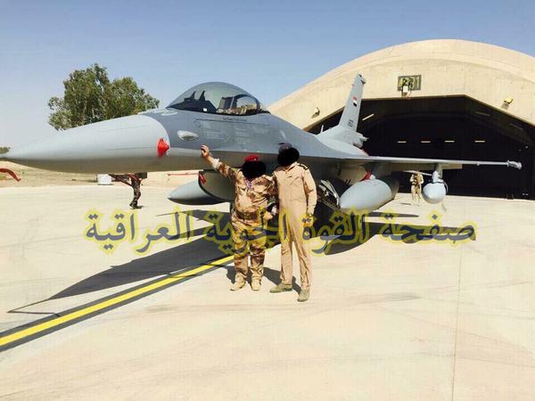 Первые истребители F-16IQ ВВС Ирака прибыли на базу Балад около Багдада