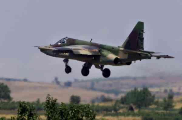 Иракский военный самолёт случайно сбросил бомбу на Багдад