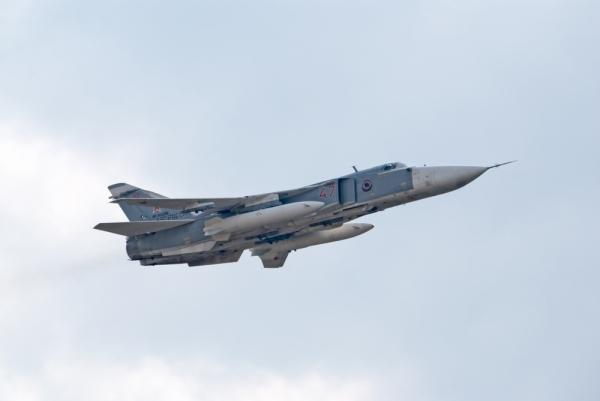 В Хабаровском крае разбился Су-24М