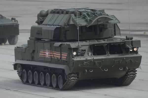 """Всепогодный тактический зенитный ракетный комплекс """"ТОР-М2У"""""""