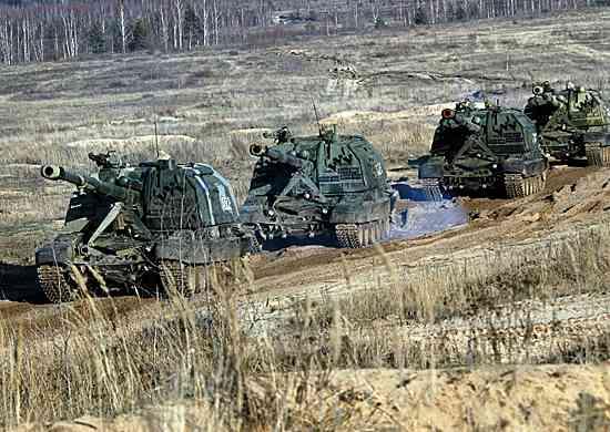 В ЦВО испытали систему, контролирующую движение военной техники