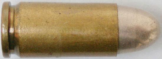 Патрон 8 mm Bergmann Nº 6 8x18 Simplex