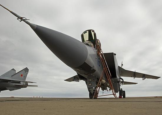 Сирия получила 6 российских МиГ-31
