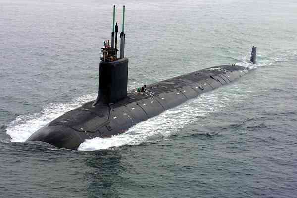 Virginia-class submarine John Warner