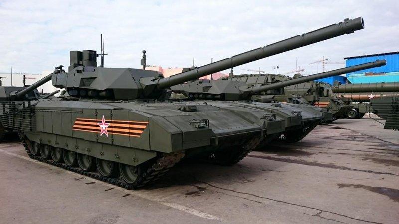 Армата станет 152-мм артиллерийским комплексом