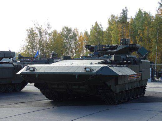 В Нижнем Тагиле прошла презентация БМП Т-15 Армата
