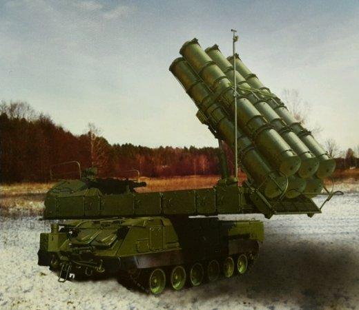В России началась подготовка к серийному выпуску зенитного комплекса Бук- М3