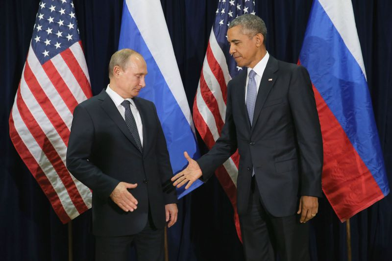 Два президента, два мира