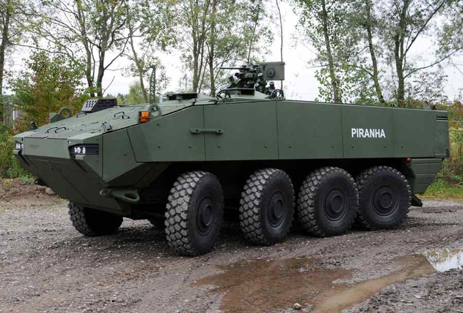 Испания выбрала бронетранспортеры Piranha V