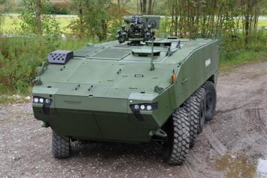 Испания примет на вооружение новую боевую машину на базе бронетранспортера Piranha 5