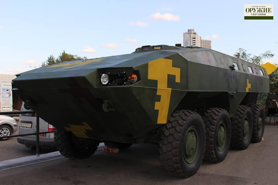 Новые образцы украинской бронетехники
