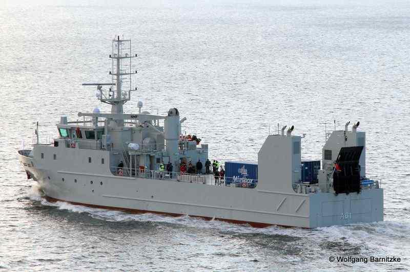 ОАЭ получили торпедные корабли, замаскированные под вспомогательные суда
