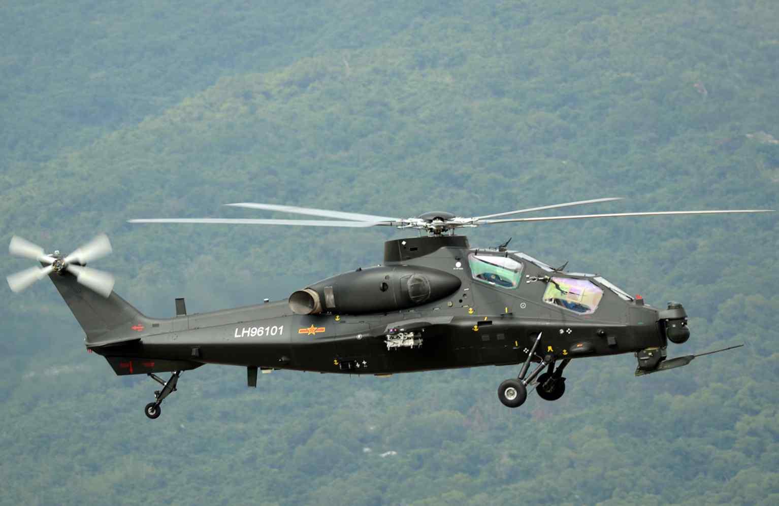 О перспективах модернизации силовой установки китайского боевого вертолета WZ-10