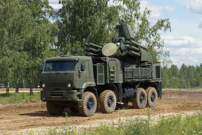 Россия поставила Сирии ЗРПК «Панцирь-С1»