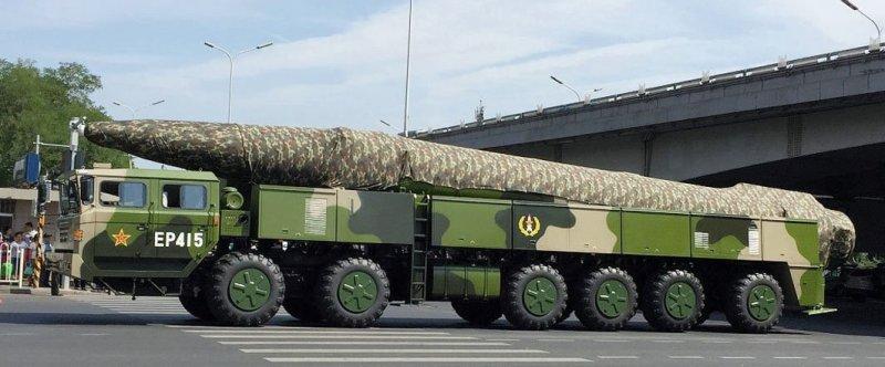 Ряд новейших китайских ракетных систем
