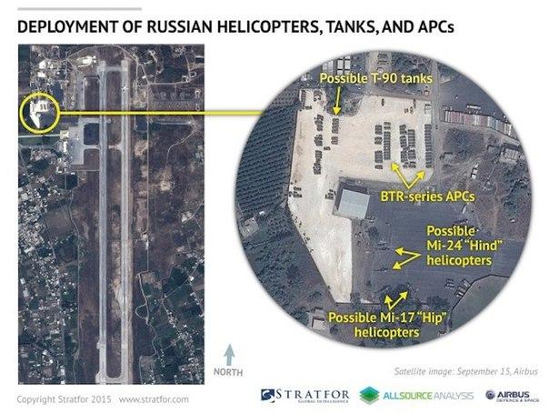 Самолет Ан-124 доставил российские вертолеты в Сирию