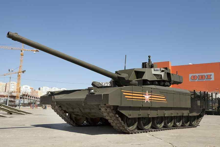 Видео стрельбы из танка «Армата»